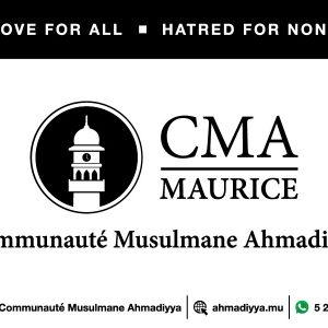La Communauté Musulmane Ahmadiyya (CMA)