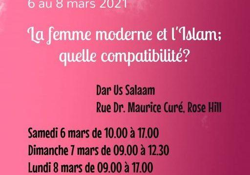 La femme moderne et L'islam , quelle compatibilité ?